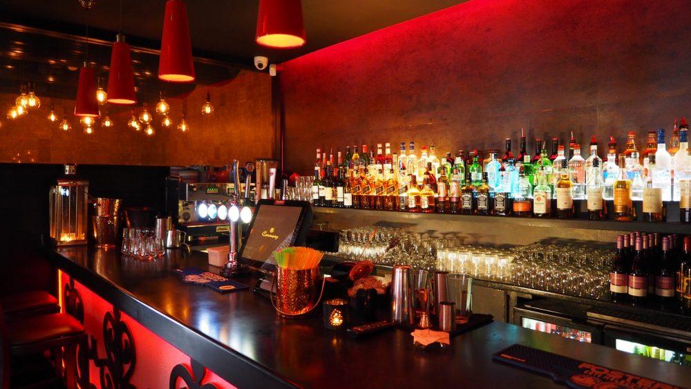 Claire Davies Interiors Bar