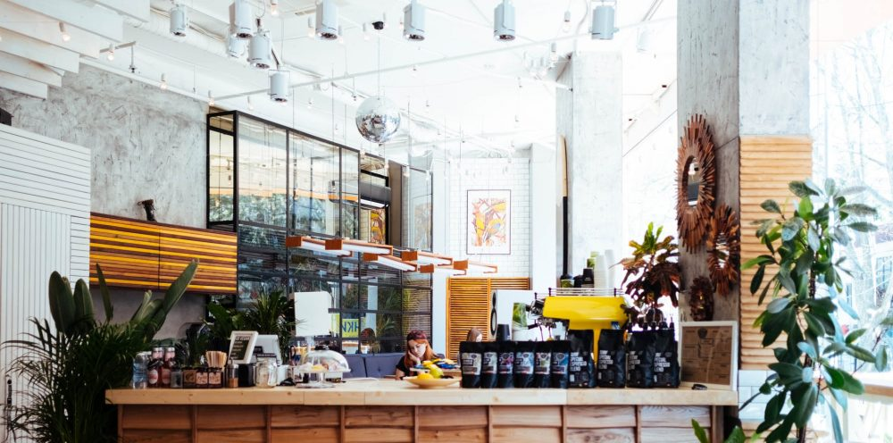 Claire Davies Interiors Cafe