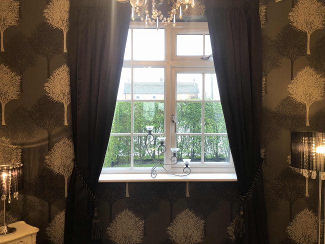 Claire Davies Interiors Cheshire Curtains pic